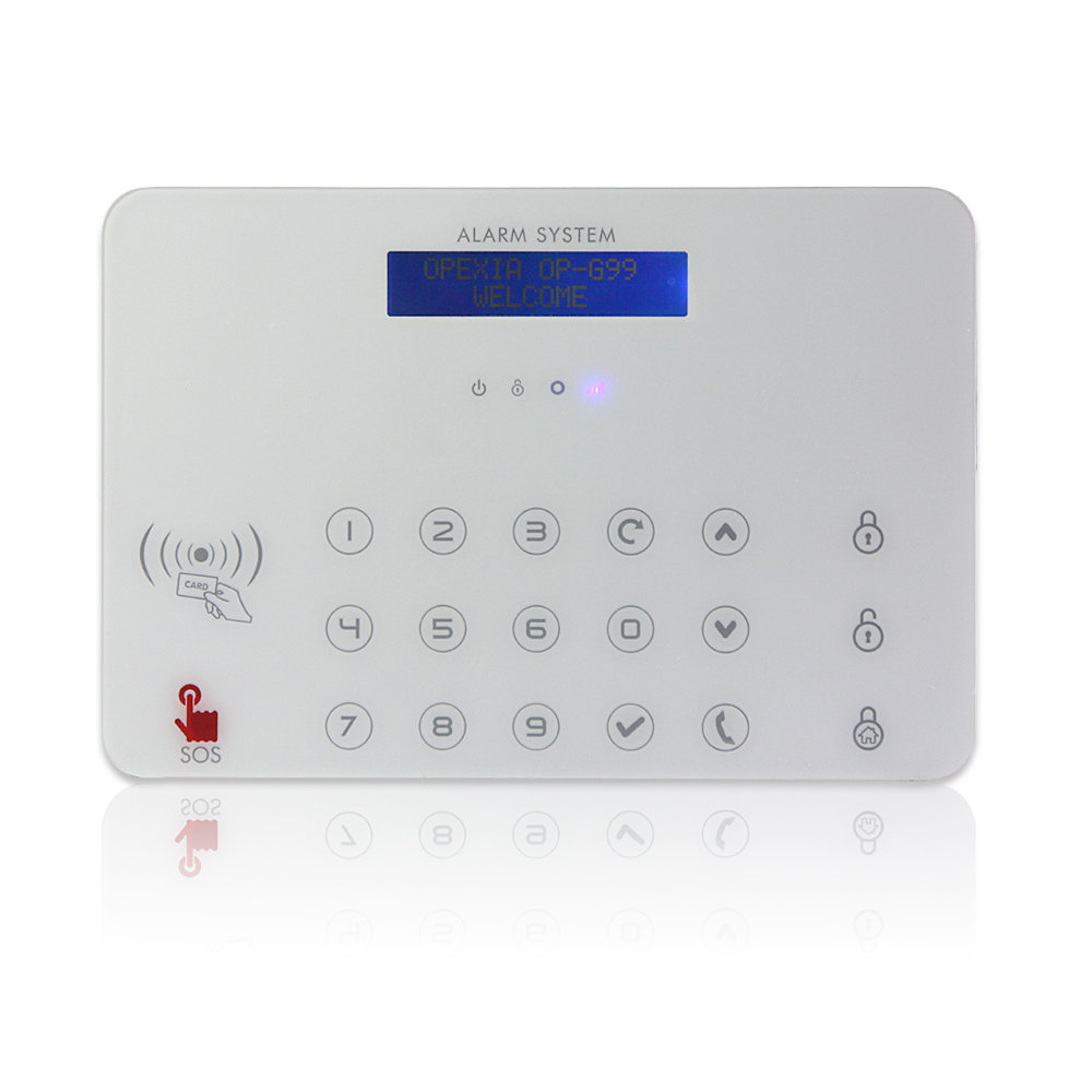 gsm alarm system wireless smoke detectors gas detector alarm. Black Bedroom Furniture Sets. Home Design Ideas