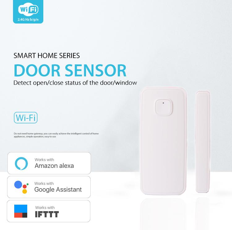 Wifi Alarm Garage Door Opener For Windows With Smart Life App